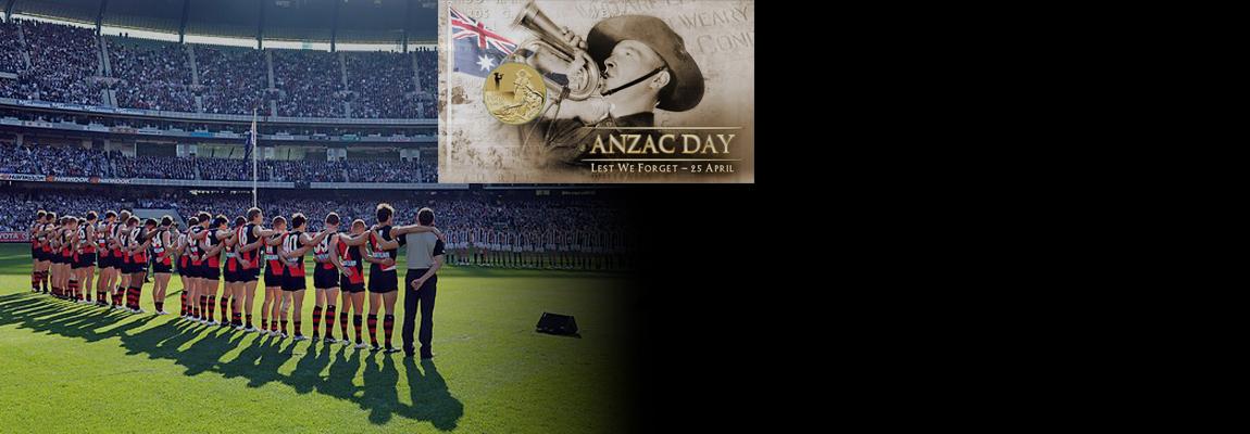 ANZAC DAY - Essendon V Collingwood